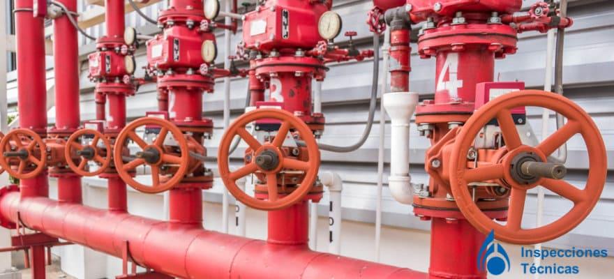 fugas de agua en sistemas contra incendios